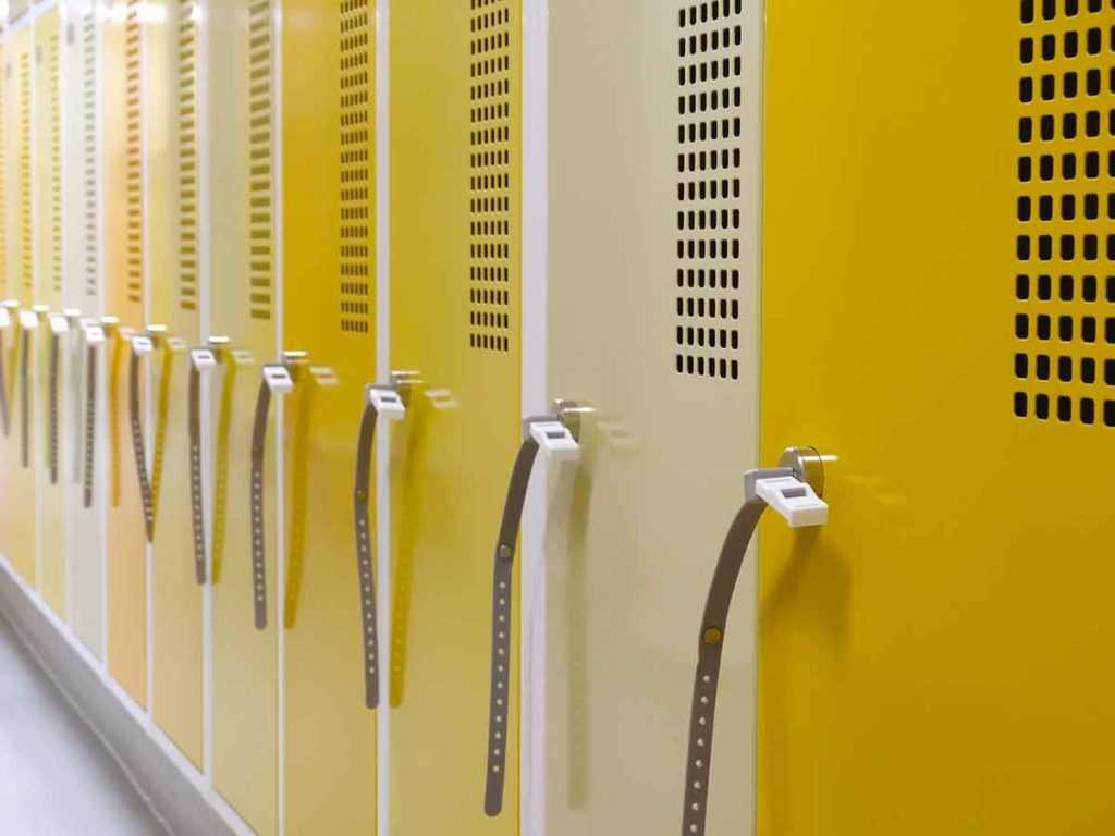 Garderobenschrank Fächerschrank Stahlspinde